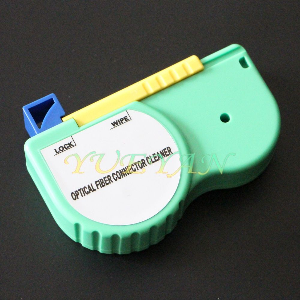 YUEYANTX Fiber Optic Connector Cleaner/Fiber Optic Cleaning Tool/Cassette 500 Cleans