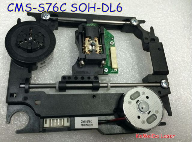 Brand  New CMS-S76C CMS-S76  SOH-DL6 SOH DL6 DVD  Laser Lens Lasereinheit  Optical Pick-ups Bloc Optique  with Mechanism