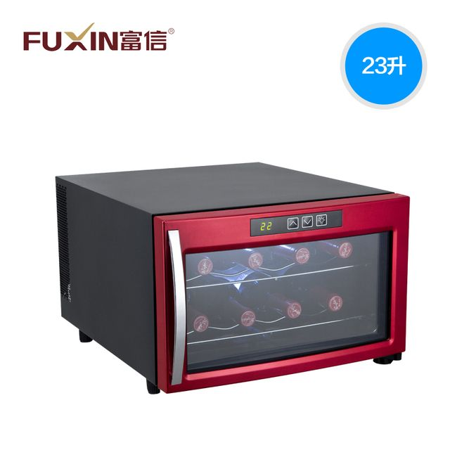 FU XING Eight bottles can be installed Temperature can be adjusted No noise No vibration Pollution-free Electronic wine cabinet