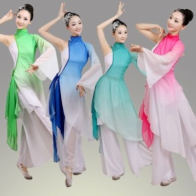 traditional chinese folk dance costumes clothing for women dance chinese national  folk dance costume women costume for fan