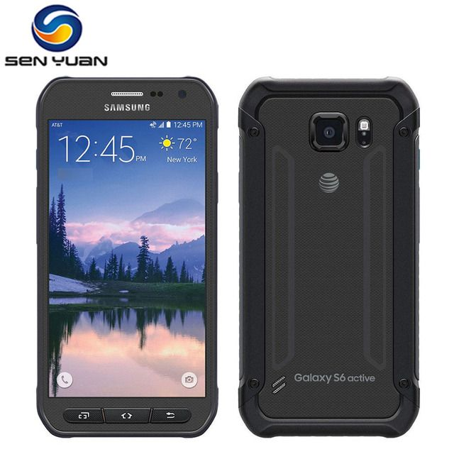 Original Unlocked Samsung Galaxy S6 Active  G890A Mobile Phone Octa Core 3GB RAM 32GB ROM 16MP Camera  4G LTE g890a cell phone