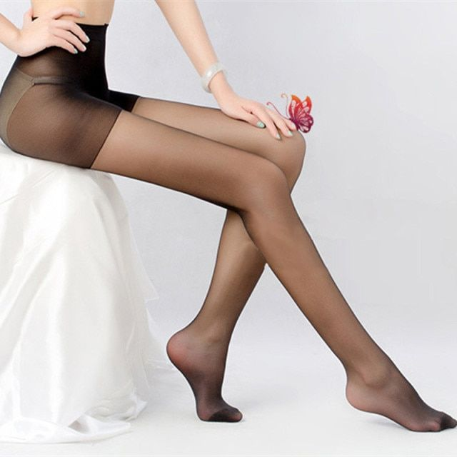 3Pcs/Lot Women Pantyhose Fashion Female Transparent Tights 40D Sexy Seamless Pantyhose Hosiery Charming Long Stockings