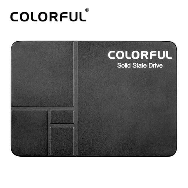 "Colorful SL300 120G SL500 240G SATA3.0 6Gb/s 2.5"" 7mm Height SSD Internal Solid State Drive for Desktop Notebook Laptop"