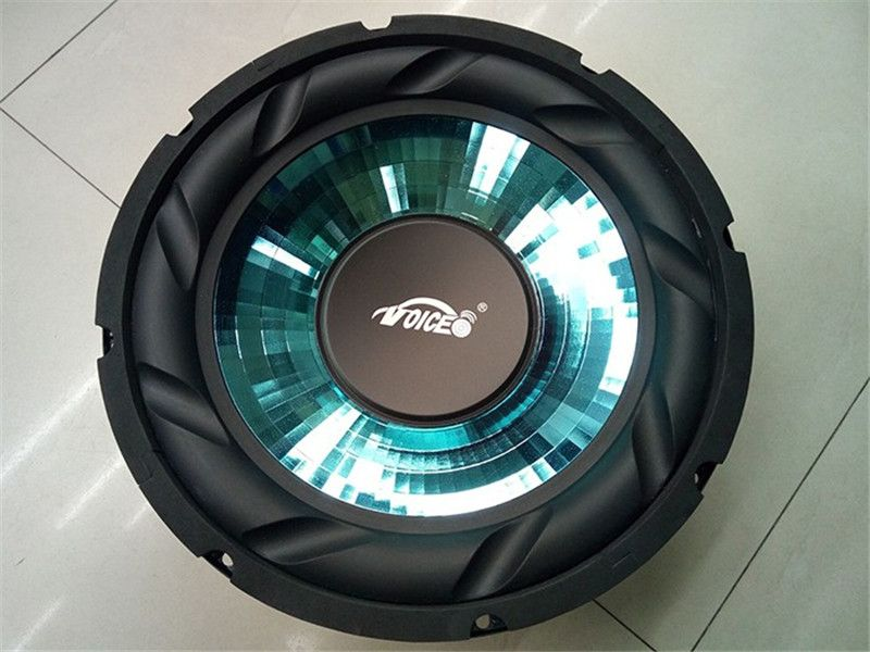 1 pcs High Power woofer Subwoofer 12 inch 200W 8 ohm woofer speaker 45HZ-4500HZ  for car amplifier Black strong paper cone