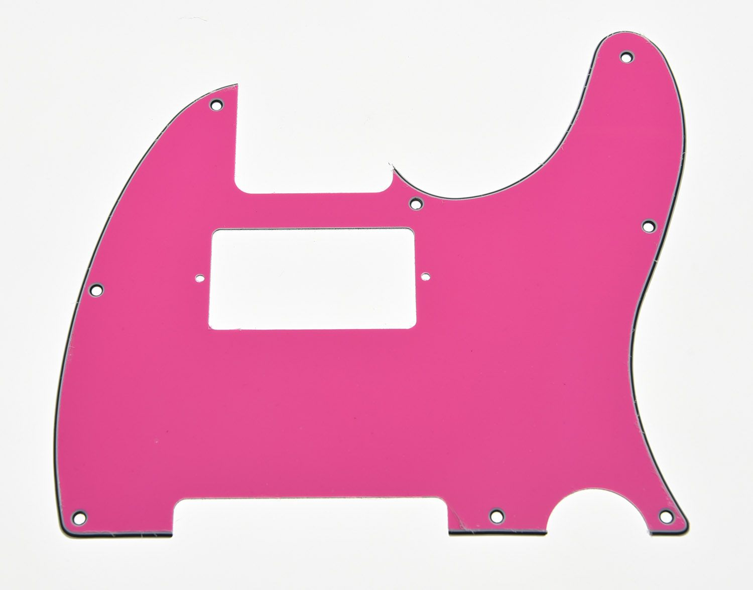 KAISH TL Humbucker Scratch Plate Guitar Pickguard Pink Red 3 Ply