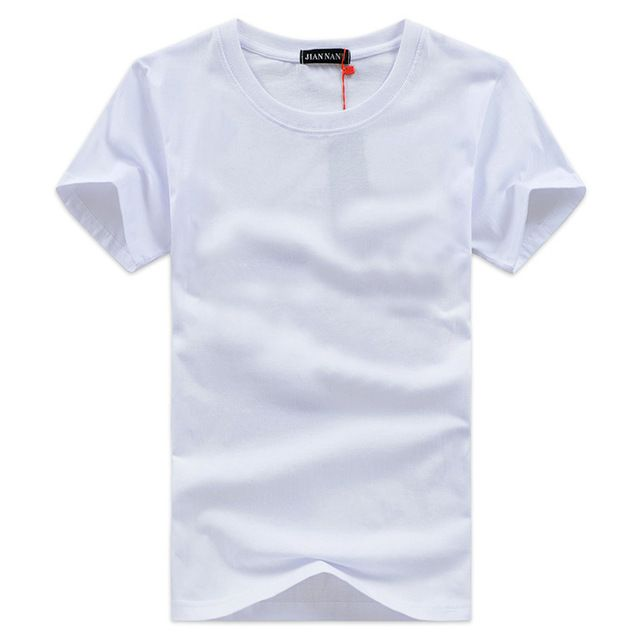 Aliexpress 2018 hot summer new Korean version Fashion trends Men Slim Round collar short-sleeved T-shirt china Cheap wholesale