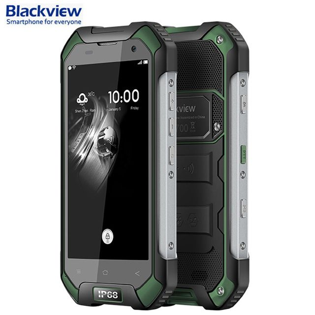 Original Blackview BV6000S 16GB/2GB Network 4G IP68 Waterproof Shockproof 4.7'' Android 7.0 MTK6735 MTK6737T Quad-core 1.3GHz