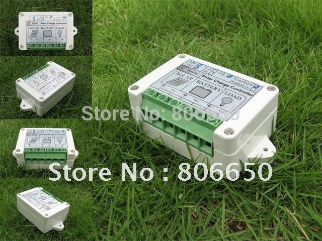 USA stock no tax 15A solar charge controller  solar power controller with timer and light sensor