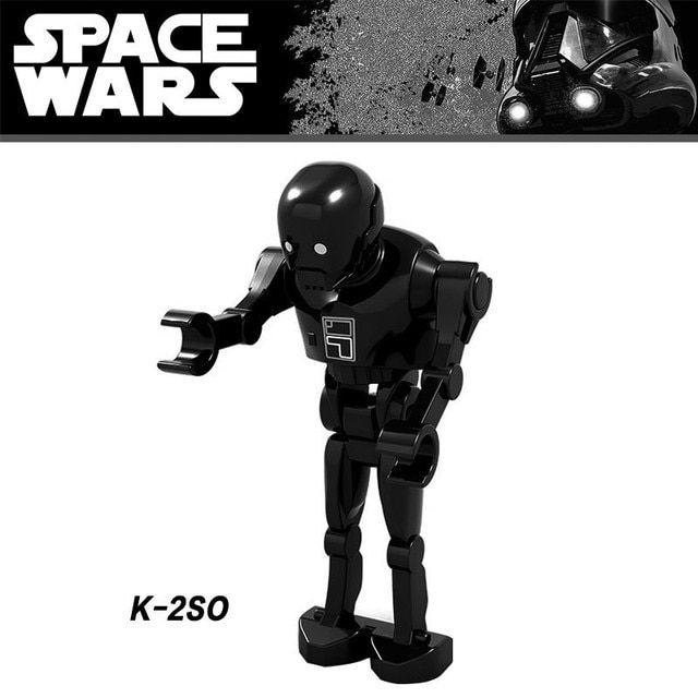 K-2SO Toy Minifigs Rogue One  Single Sale Gifts Kids Star Wars Building Blocks Compatible With Lego
