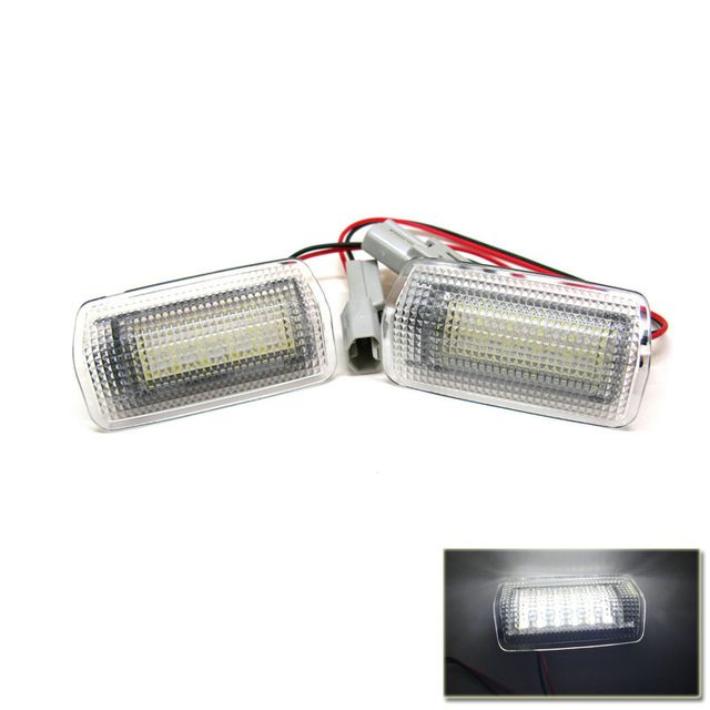 LED Car Door Light for Prius Alphard Vellfire Estima Isis Land Cruiser Camry Is250 Super Bright LED Courtesy Lamps Car-Styling