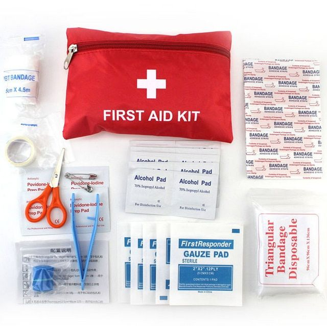 Emergency Survival Kit Mini Family First Aid Kit Sport Home Medical Bag Outdoor Camping hiking Car First Aid Kits GYH