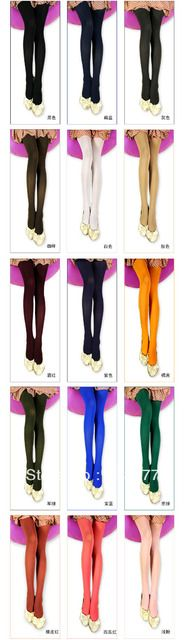 Winter women sexy tights/panty/knitting in stockings trousers panty-Candy color pantyhoseTT017-20pcs