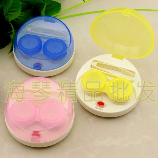 LIUSVENTINA cute Contact Lens Washer automatic Cleaner Cleaning Lenses Case