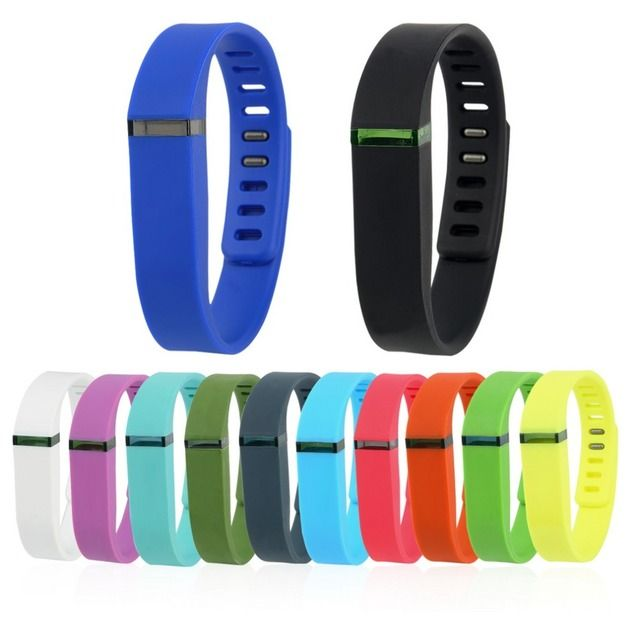 YHX YHX2016 NEW arrival  Large And Small Replacement Wrist Band & Clasp For Fitbit Flex Bracelet
