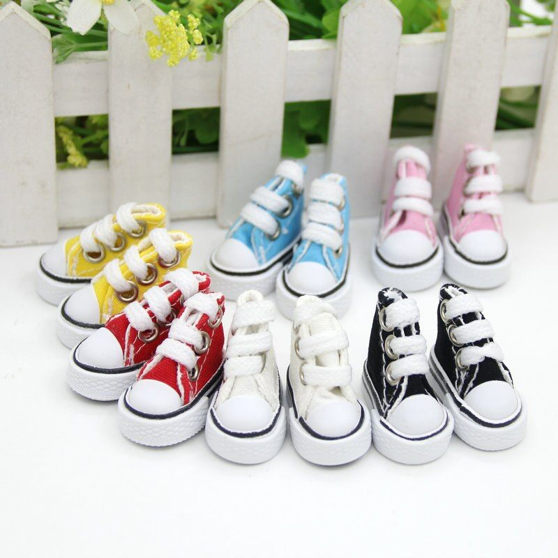 3.5cm*2cm*3cm Doll Shoes for Blythe Licca Jb Doll Mini Shoes for Russian Doll 1/6 BJD Sneakers Shoes Boots