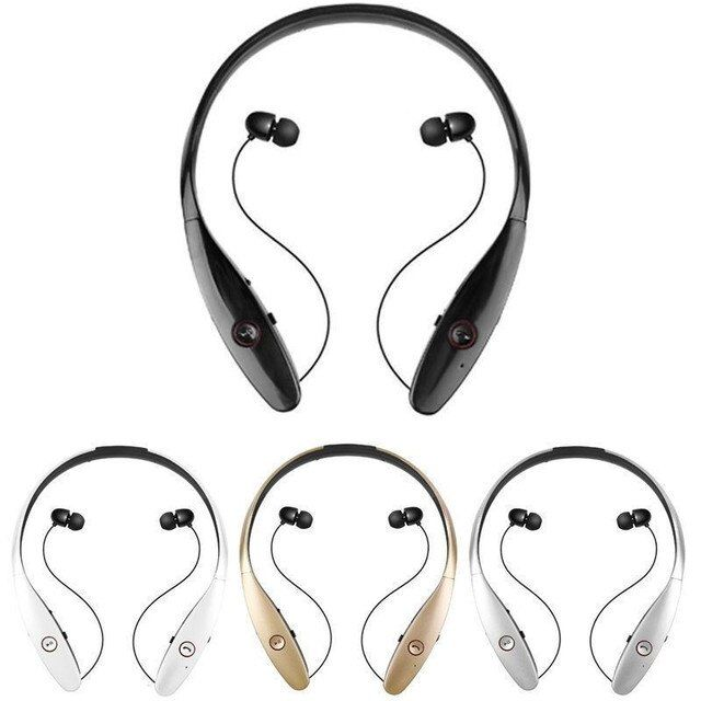 New Bluetooth Headset for LG iPhone Samsung Tone HBS-900 HBS 900 Wireless Mobile Earphone Bluetooth Headphone for Mobile Phone
