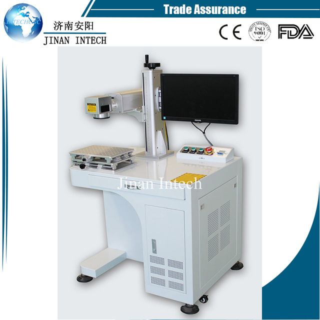 High speed 30W MAX Raycus IPG fiber source fiber laser marking machine