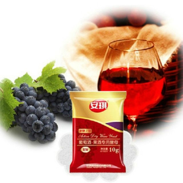 30G/LOT INTO 150kg Red Wine MOST FREE SHIPPING STARTER Yeast Grape FRUIT Fermenting Food Additives Grain Products DIY BEST SAVE