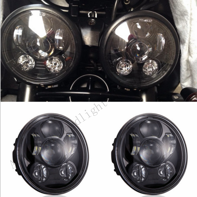 Pair (2 PCS )Triumph Speed/Street Triple, T509, 955, Rocket 3, Speed 4, for Harley LED headlights