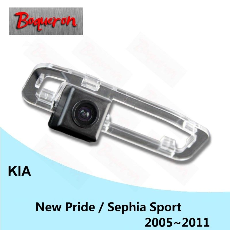 for KIA New Pride / Sephia Sport 2005~2011 HD CCD Night Vision Reverse Parking Backup Camera Car Rear View Camera NTSC PAL