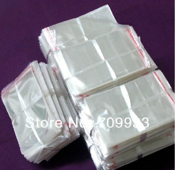2100pcs/lot Wholesale Clear Self Adhesive Seal Plastic Bag / Packaging Bags 7*12cm Free shipping by China post air