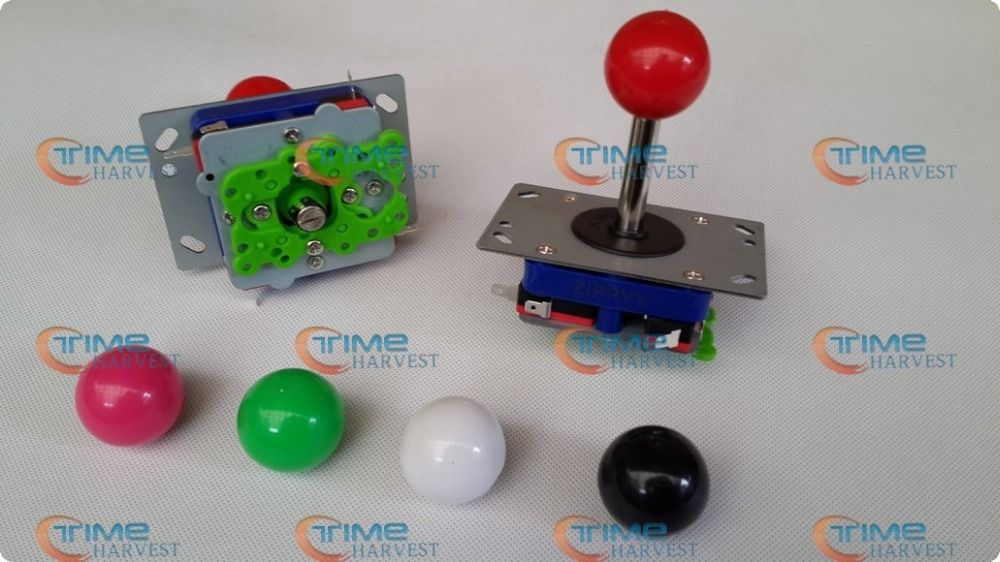 4 pcs ZIPPY Joystick Long shaft 2 way, 4 way, 8 way joystick with Microswitches arcade parts for coin operated game machine