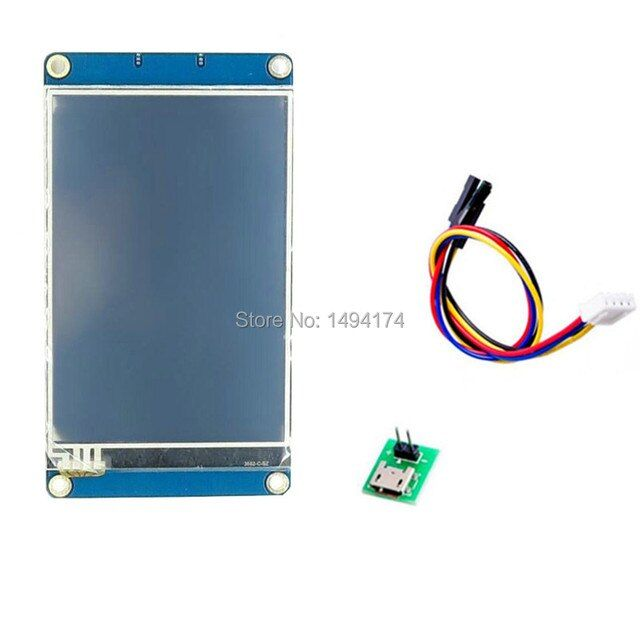 WQScose Q8S-200 Nextion 3.5 Inch TFT Touch Screen  UART HMI Intelligent Smart LCD Module Display Panel For Arduino Raspberry Pi