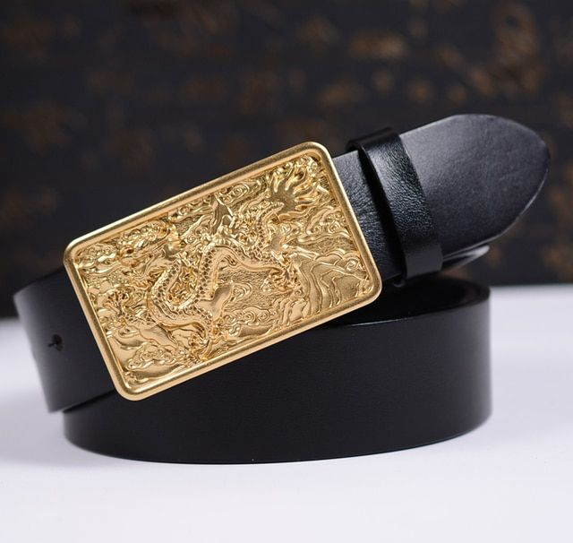 Free Shipping&Drop Shipping Top Quality Cowskin Leather Belt Cool Design Men Belt Strap Luxury Belt For Gift