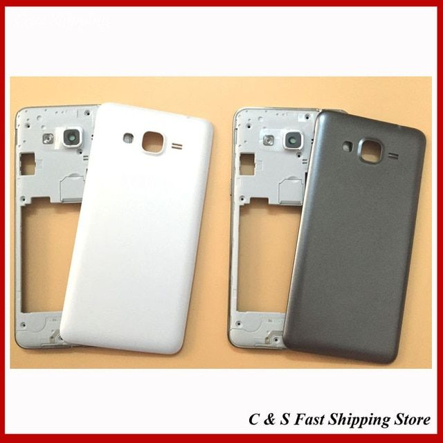 Original Mddle Bezel Back Cover Housing For Samsung Galaxy Grand Prime G531 SM-G531 Middle Plate With Battery Door Replacement