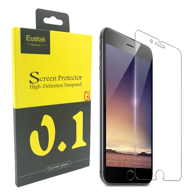 Eustak Tempered Glass for iphone 6 6s  2.5D Tempered Glass for iphone 5 6 7 plus Glass film Screen Protector