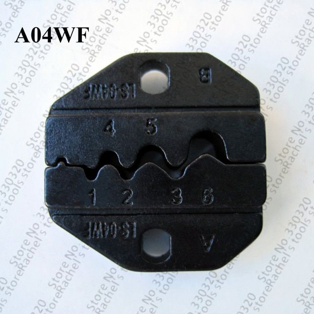 A04WF die set for crimping twin wire-end ferrules