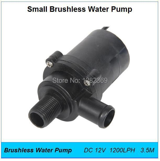 5pcs/lot DC 12V Power Max.30W Flow 1200LPH 3.5M,Small Electric Water Pump,Fountains Pumps,Booster,Shower,Hot Water
