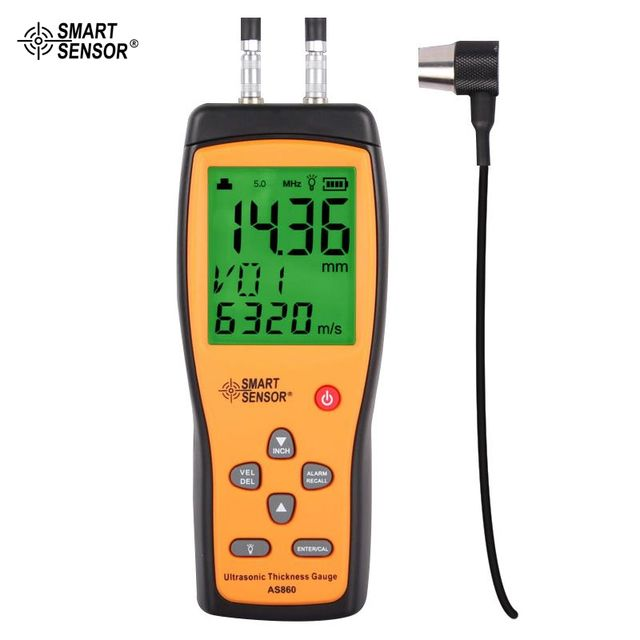 AS860 Ultrasonic Steel Aluminium Plate Thickness Gauges