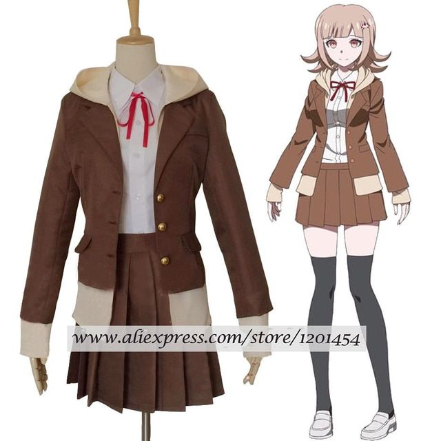 Danganronpa 3 Side: Despair Nanami ChiaKi School Uniform Cosplay Costume