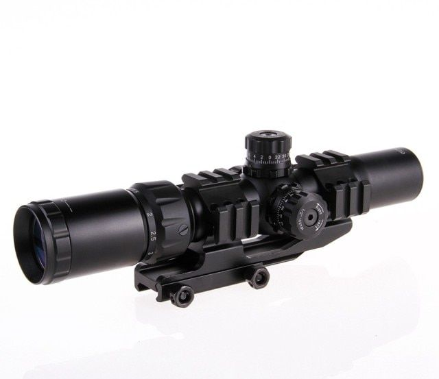2016 Hunting Riflescopes 1.5-4x30 Suitable for all Gun Mount For Optics Tactical Telescopic Sight outing Hunting hot sell