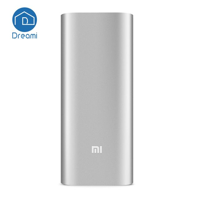Dreami Original Xiaomi Mi Power Bank 16000mAh Portable External Battery Dual USB Fast Recharge for Mobile Phone  Digital camera