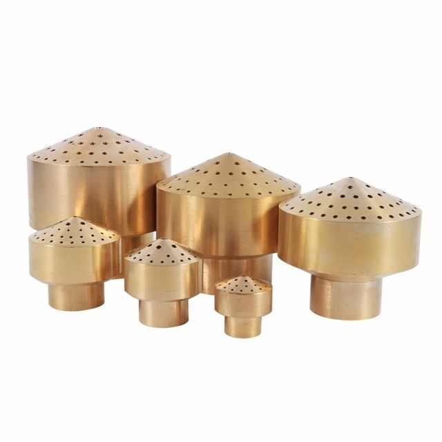 W 1/4''1/2''3/4''1''3/2''2''Brass Column Garden Pond Water Fountain Nozzle Fireworks Column Style Fountain Nozzle New Arrival