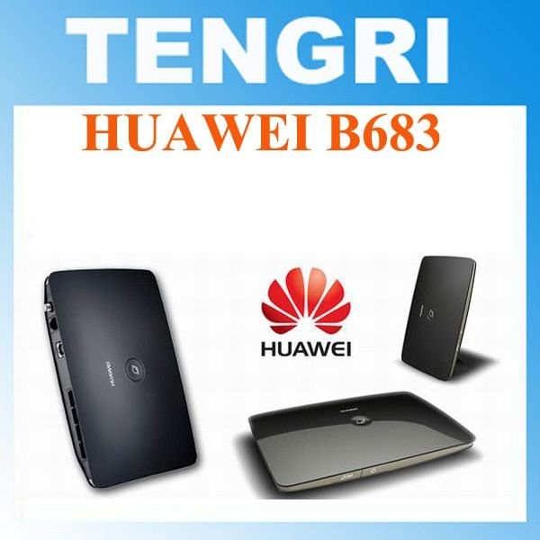 Original Unlocked Huawei B683 3G 21.6Mbps WCDMA 900/2100MHZ wireless router HSPA+ Wireless Gateway WLAN Router