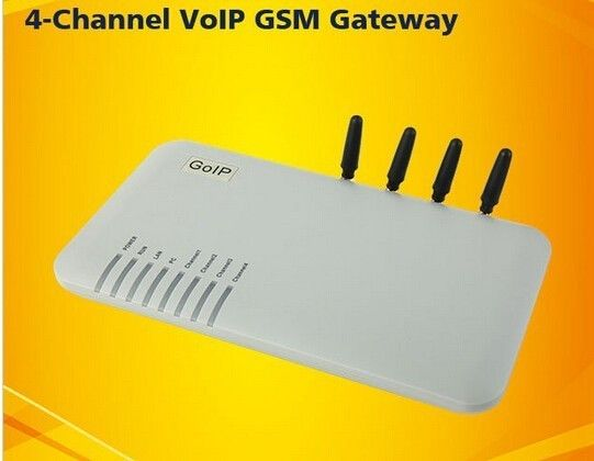 Low Price for Quad Band goip gateway 4 ports,goip 4,asterisk gsm gateway GoIP-4 with retail box