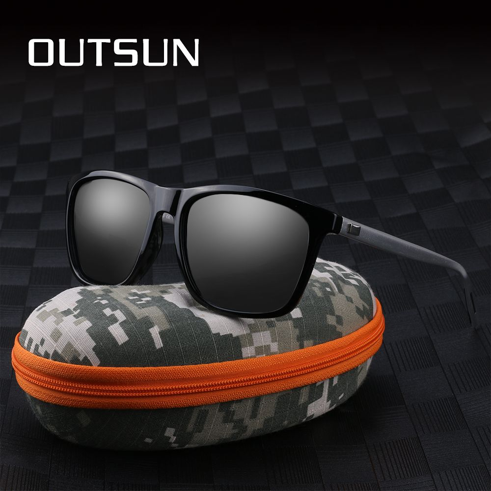 Aluminum+TR90 Sunglasses Women Men Polarized Fashion Sun Glasses UV400 Polaroid Oculos De Sol Accessories with Camouflage box