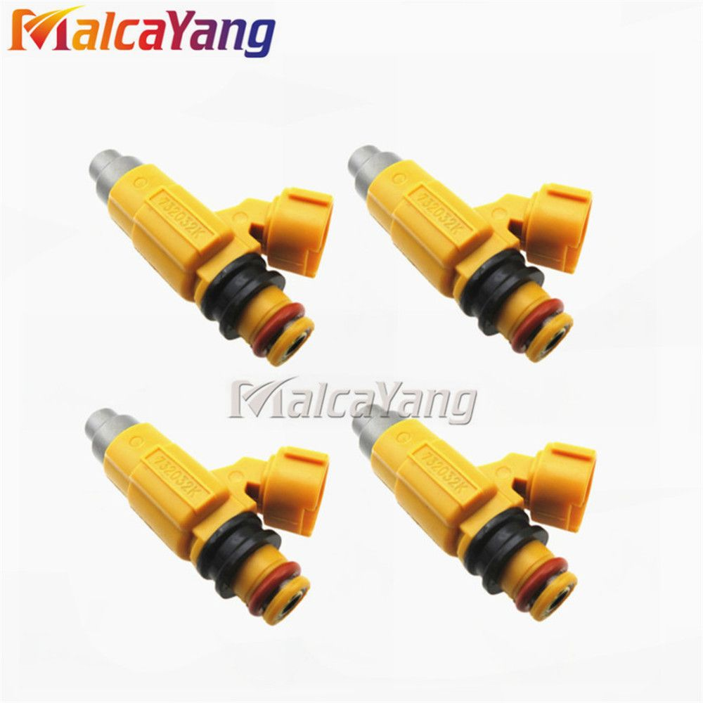 4pcs Car spare parts Fuel Injectors For Mitsubishi Galant MD319792 CDH275 For Yamaha outboards 150HP F200 F225 LF225 LF200