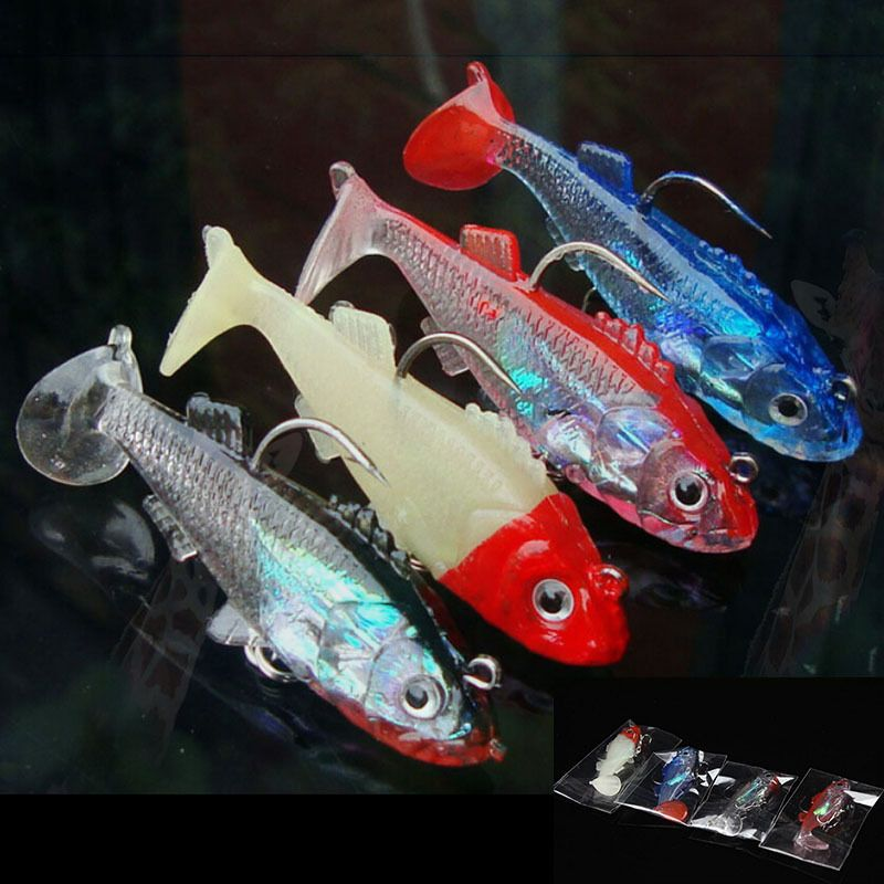 Super Price fishing tackle 3D eyes Minnow fishing lure fishing bait 6 cm 1 PC