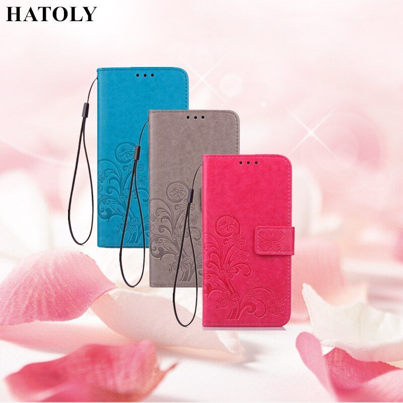 "HATOLY For Flip Wallet Case Xiaomi Redmi 4 Pro Leather Cases Soft Silicone Cover Phone Bag For Xiaomi Redmi 4 Pro Prime 5.0""<"