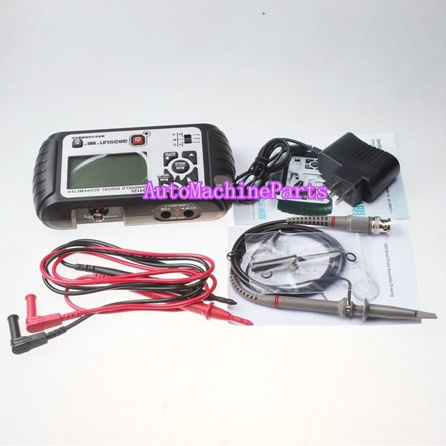 New MINI OSCILLOSCOPE HANDHELD DIGITAL SCOPE METER EM125