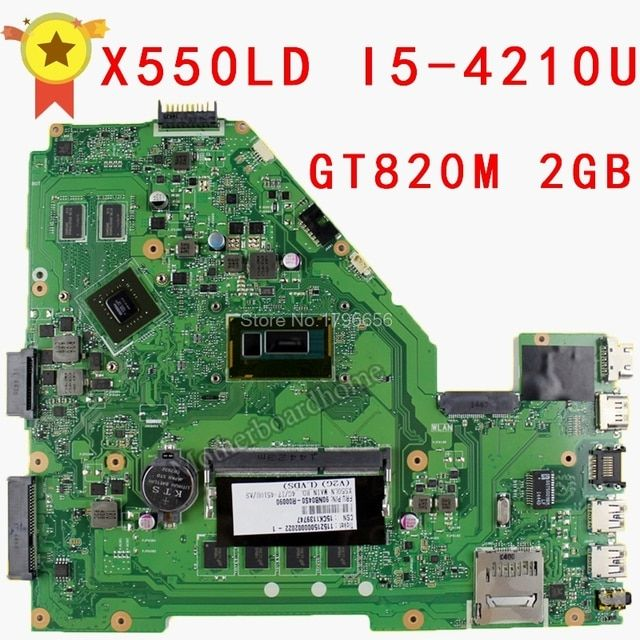 X550LD X550 Laptop Motherboard REV2.0 with I5-4200U PM Mainboard 90NB04T0-R00070 Non-integrated Notebook Fully Tested Mobo