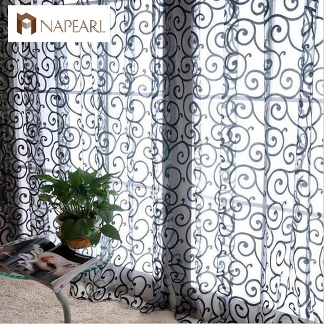 Fashion fashion curtain window screening finished product quality curtain
