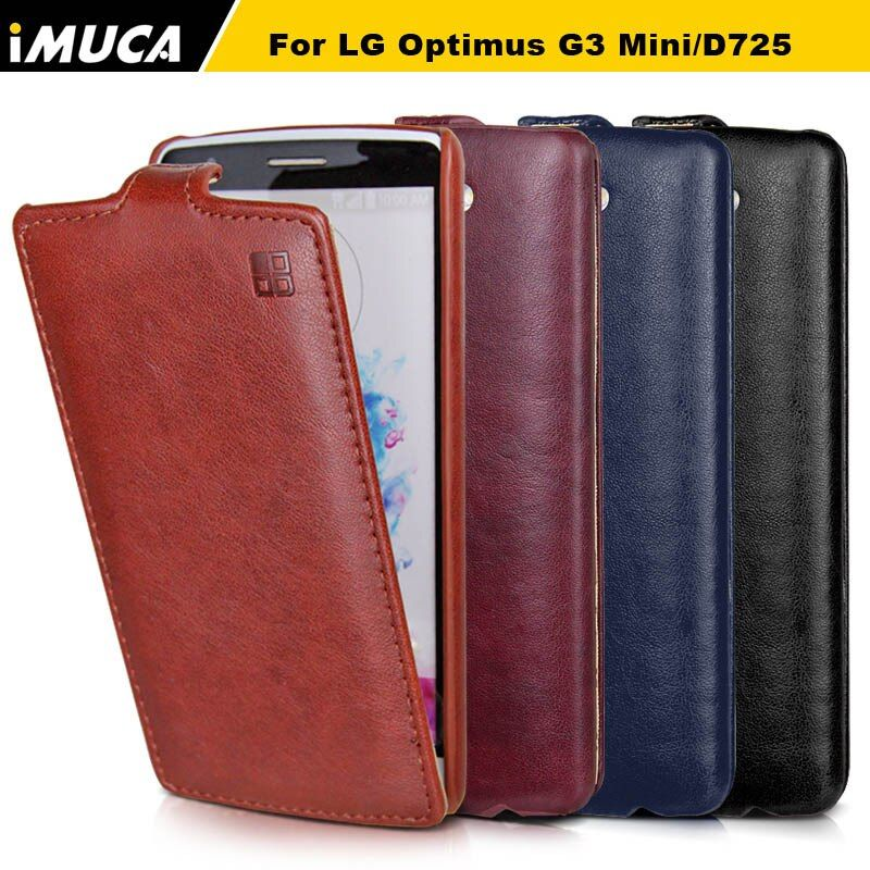 (not for G3) Leather vertical Case for LG G3 mini g3 s d725 luxury flip Cover for lg g3 mini G3S d724 d722 mobile phone cases