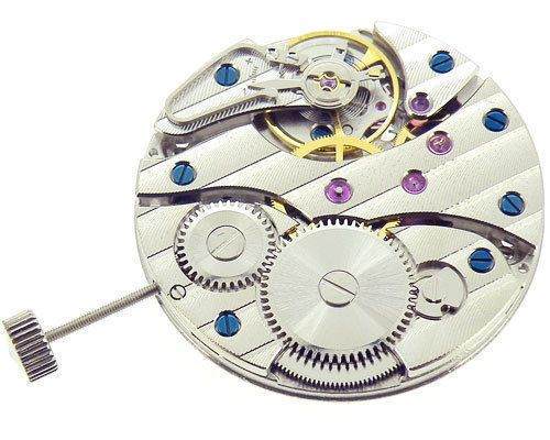 17 Jewels Asian Swan neck Hand-winding 6497 mechanical Movement fit for Vintage men's watches case