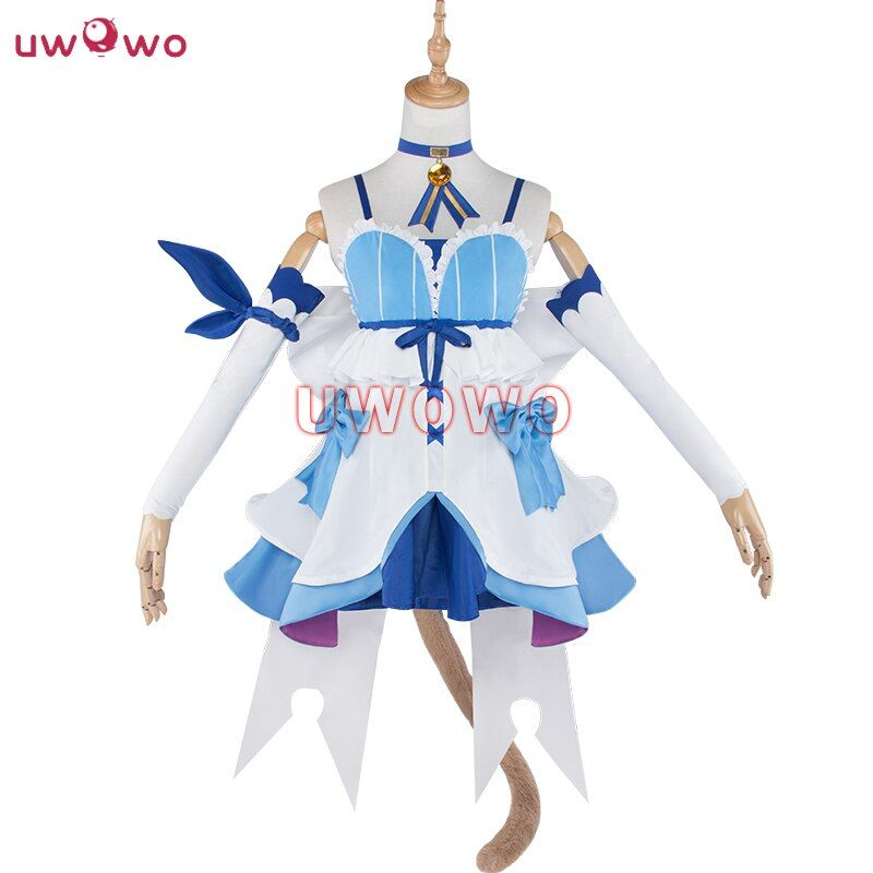 Felix Argyle Cosplay Re:zero Kara Hajimeru Isekai Seikatsu Re Life In a Different World From Zero Cat Dress Costume