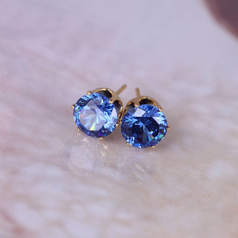 2018 brand jewelry luxury austrian crystal earrings for women godl for women stud earrings for girls gift